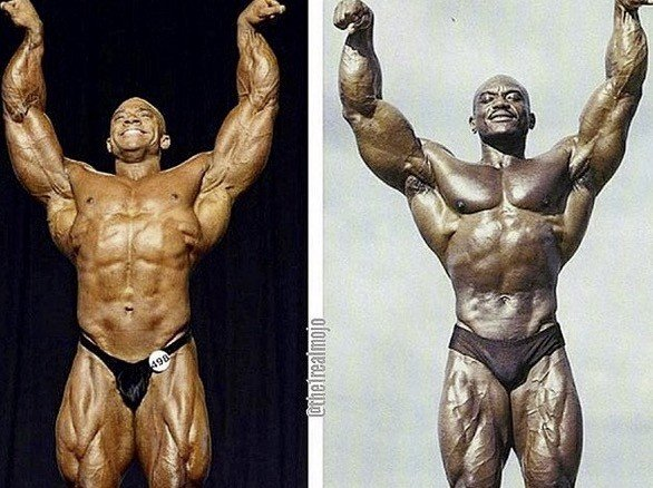 Sergio Oliva Jr. not happy being compared to father on Instagram