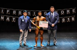 OFFICIAL RESULTS: 2018 IFBB Singapore National Championships.