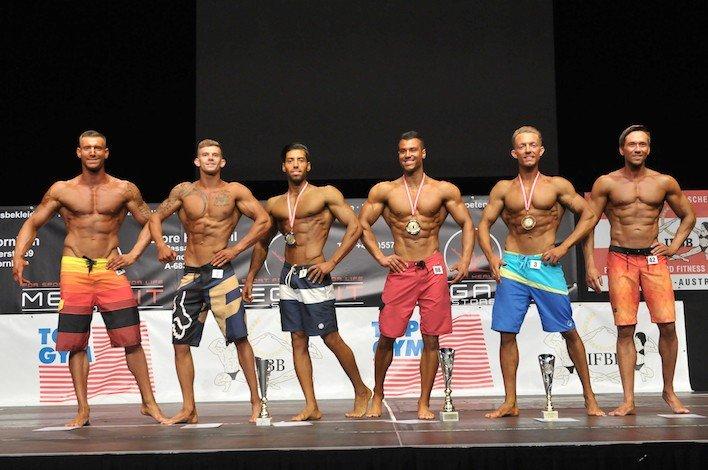 International Austrian Championship 2018 – Men Physique (MP) over 178cm