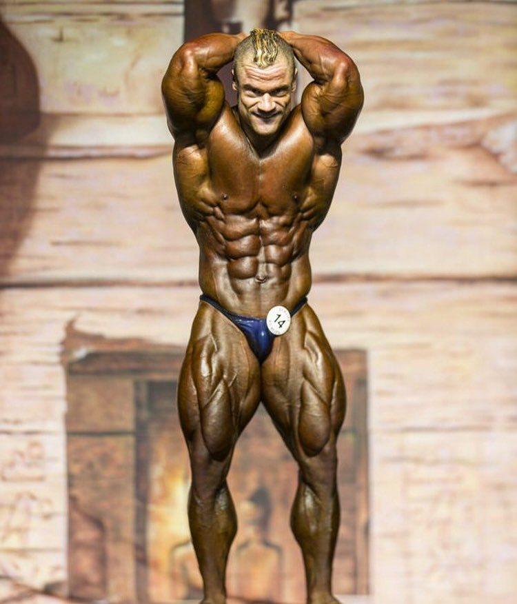 IFBB Pro Nicolas Vullioud
