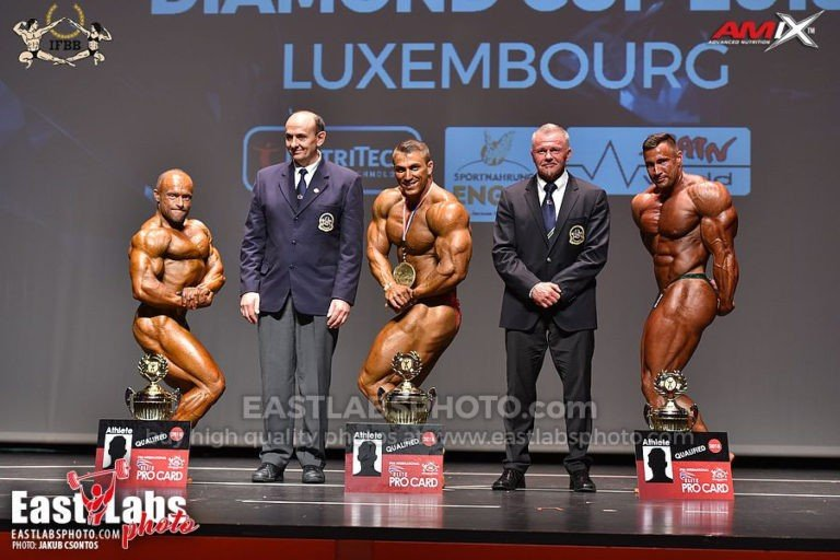 PHOTOS & RESULTS: 2018 IFBB Diamond Cup Luxembourg