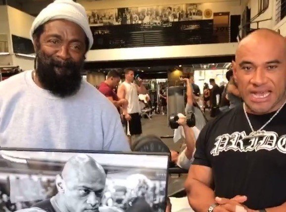 WATCH: Dreams come true!! Pedro Barron's hard work celebrated at Gold's Gym, Venice