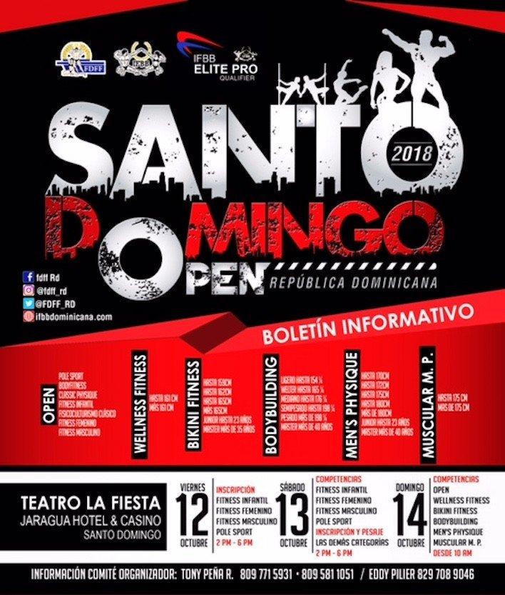 IFBB Santo Domingo Open