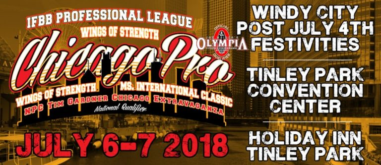 Official Competitors List: 2018 Wings of Strength Chicago Pro