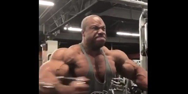 WATCH: Athletes reveal condition 8-weeks out from Mr. Olympia