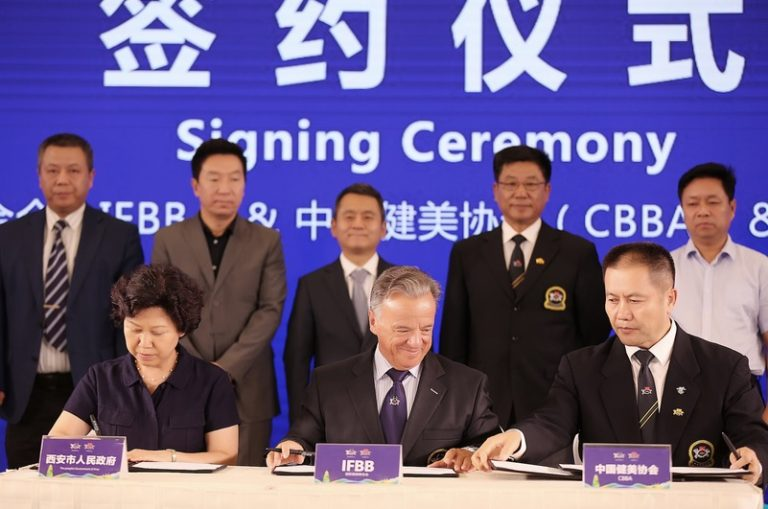 A perfect partnership between the IFBB and China