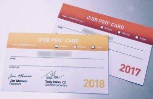 IFBB Pro athletes?