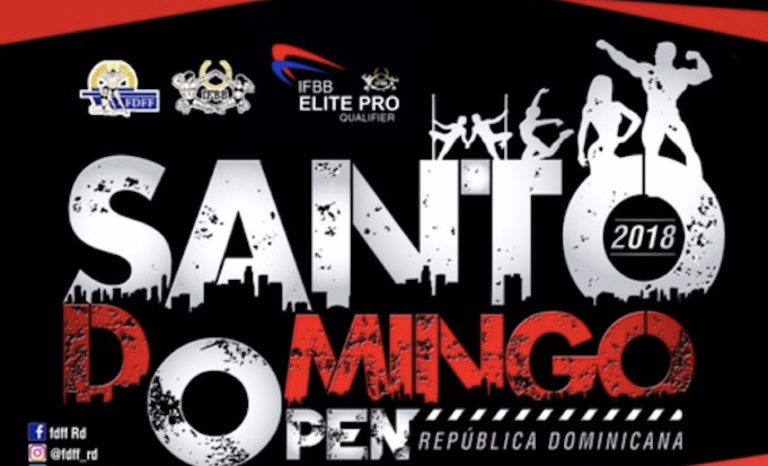 2018 IFBB Santo Domingo Open – Dominican Republic