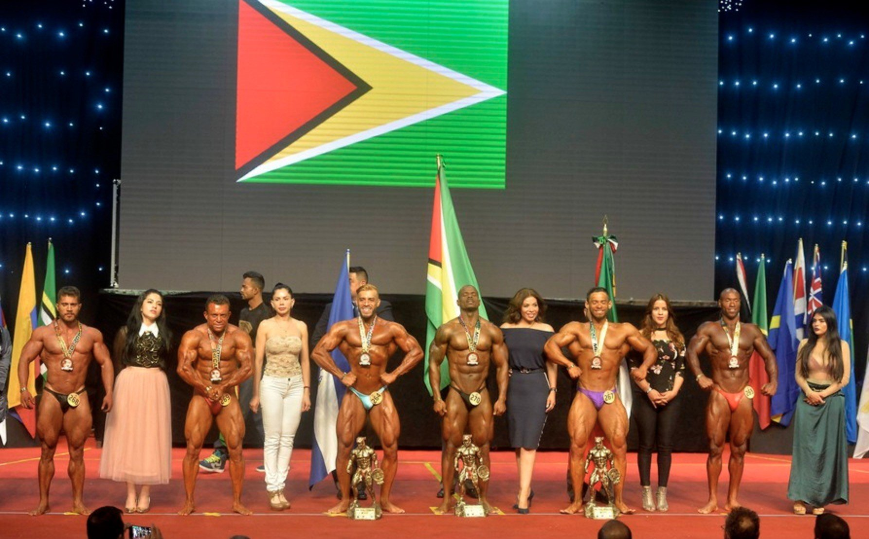 RESULTS: 45th IFBB Central