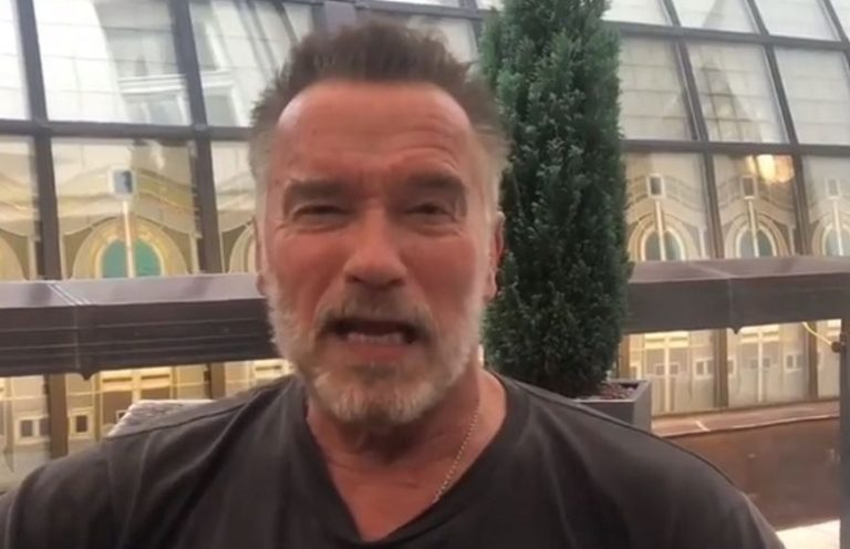 WATCH: Schwarzenegger invites you to the 2018 Arnold Classic Europe