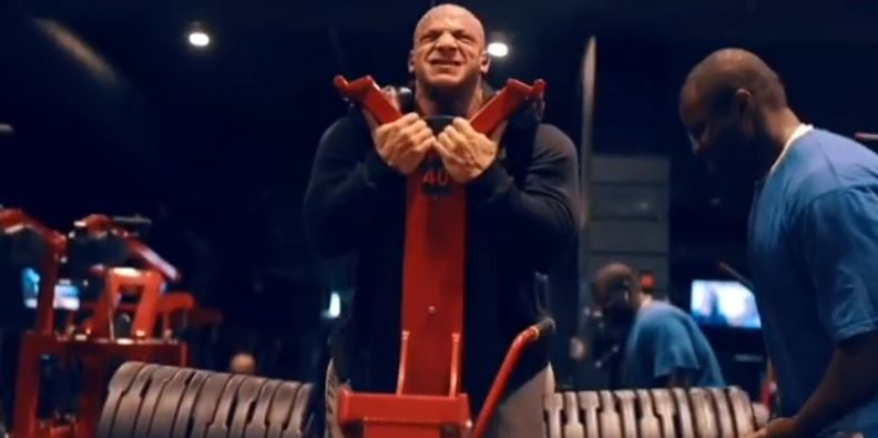 WATCH: New training video shows Big Ramy means business