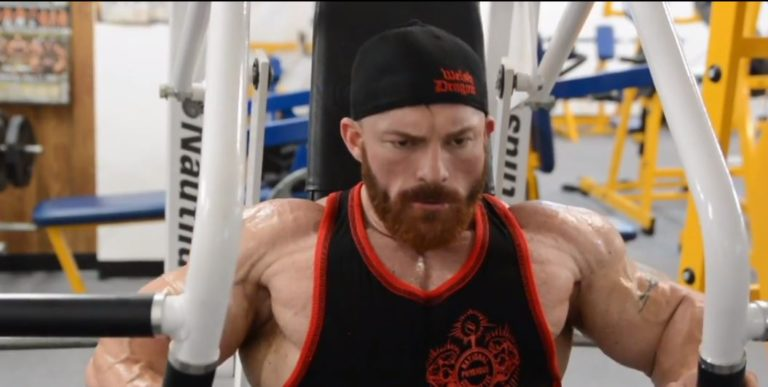 WATCH: Flex Lewis trains chest 26 days out from the 2018 Mr. Olympia