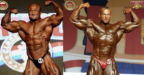 Robert Piotrkowicz and Aliaksei Shabunia switching to the IFBB Elite Pro League?
