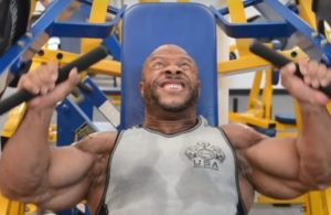 WATCH: Phil Heath's Shoulder Workout