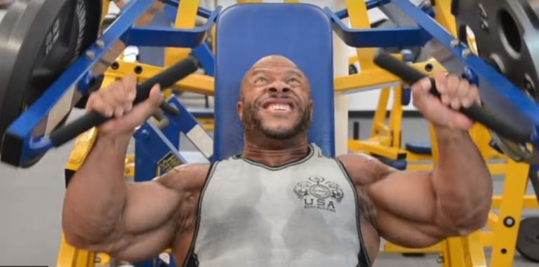 WATCH: Phil Heath's Shoulder Workout 27 Days Out From The 2018 Mr.Olympia