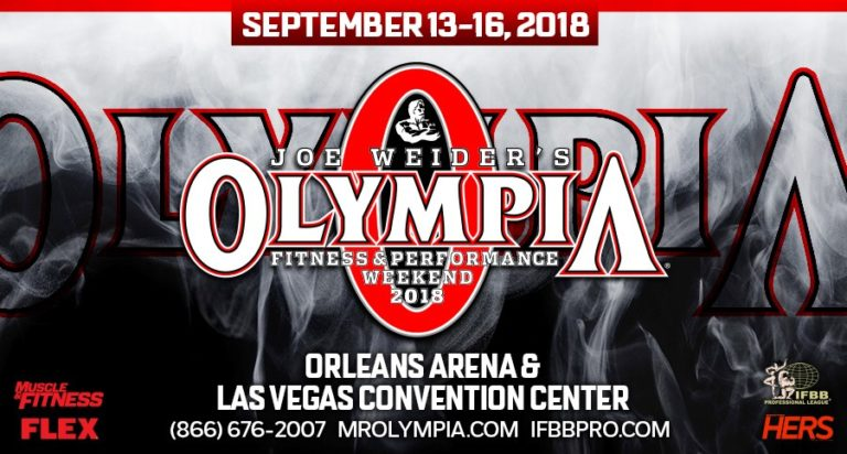OFFICIAL RESULTS: 2018 Olympia Weekend