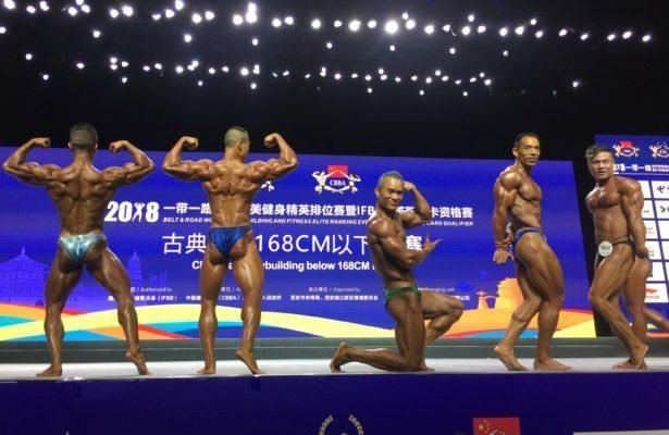 RESULTS: IFBB 2018 Belt & Road (China)