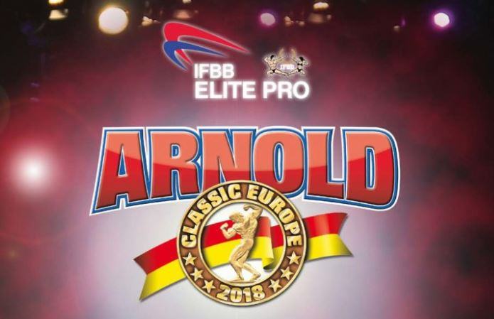 Official Competitors List: 2018 Arnold Classic Europe – IFBB Elite Pro show