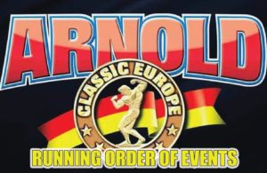 2018 Arnold Classic Europe