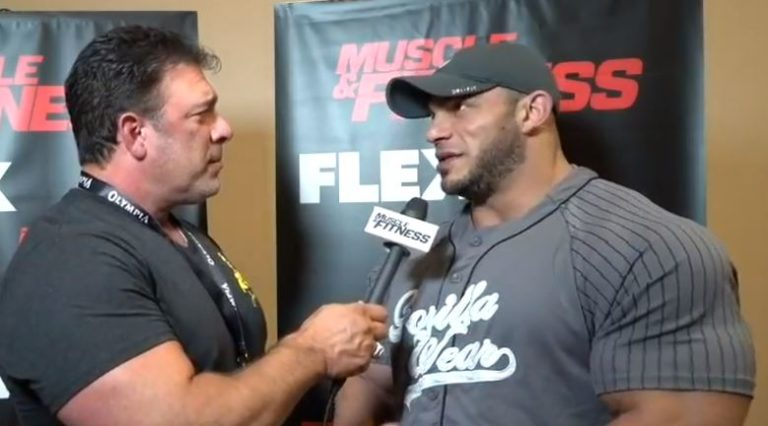 WATCH: 2018 Mr. Olympia Athlete Interviews – Athletes Meeting