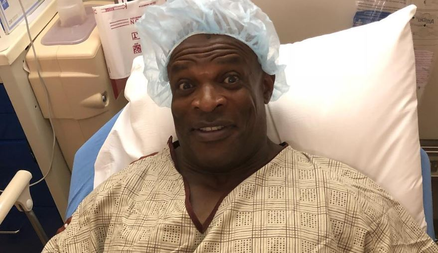 Ronnie Coleman emergency surgery