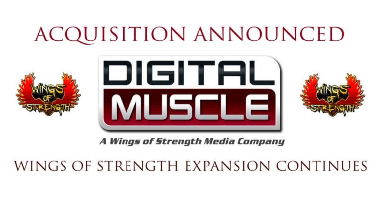 INDUSTRY NEWS: Wings of Strength Acquires Digital Muscle Media
