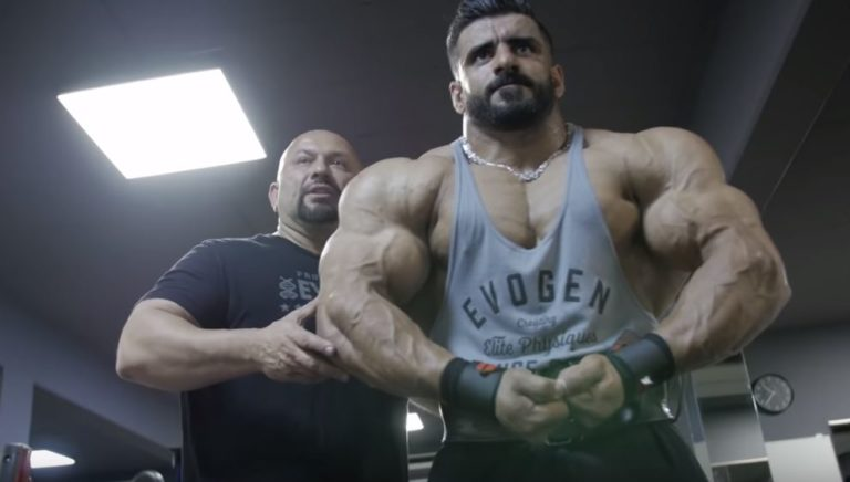 WATCH: Hadi Choopan's Chest and Shoulder workout