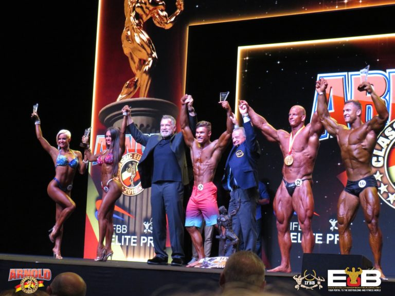 2018 Arnold Classic Europe a great success