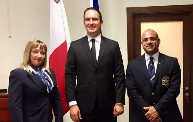 IFBB Malta discuss future projects with sports minister