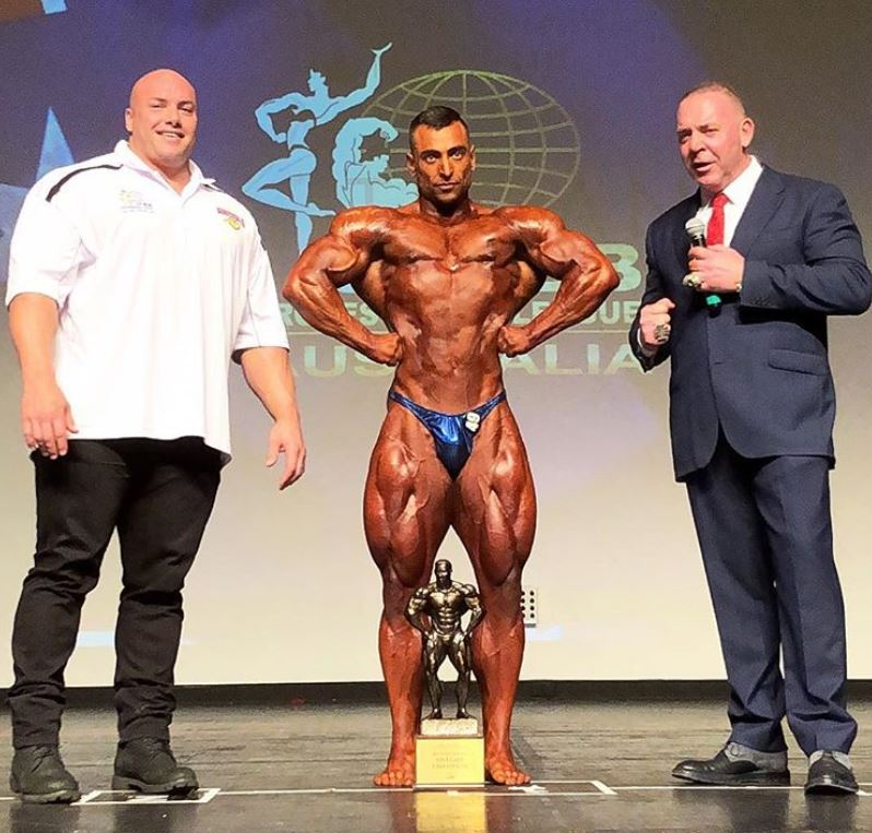 Photos Results Ifbb Pro Victorian State Championships Australia