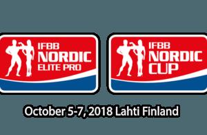 SCHEDULE: 2018 IFBB Nordic Cup