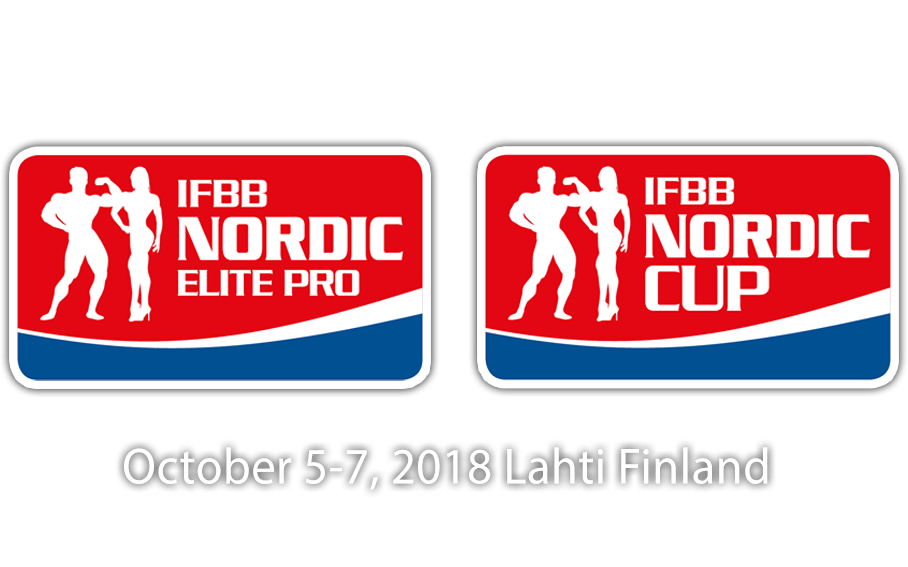 SCHEDULE: 2018 IFBB Nordic Cup