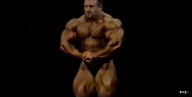 WATCH: Rare 1997 Footage of Dorian Yates at 310lbs