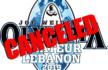 Amateur Olympia Lebanon canceled