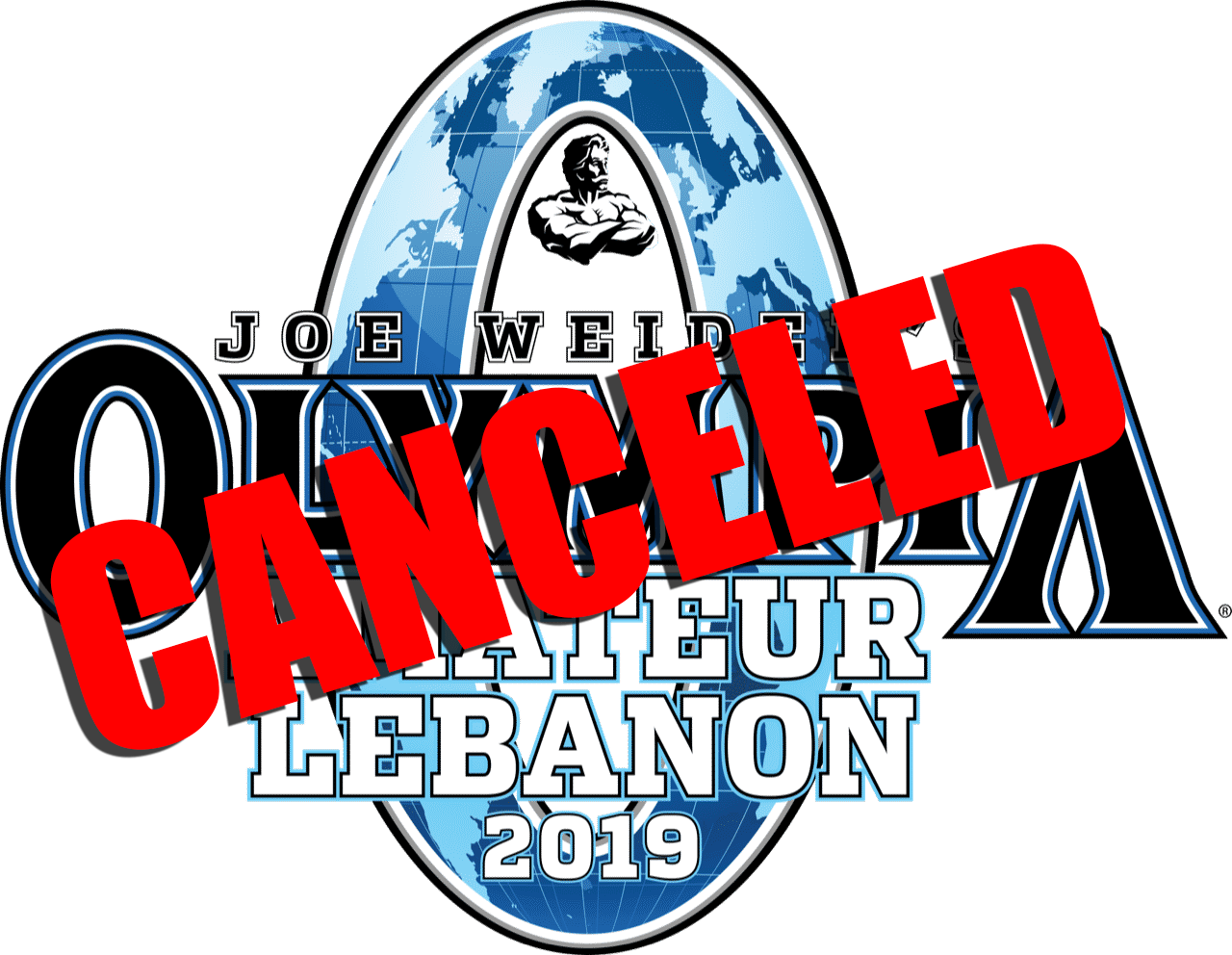 Amateur Olympia Lebanon canceled