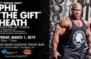 Phil Heath Autism Fundraiser