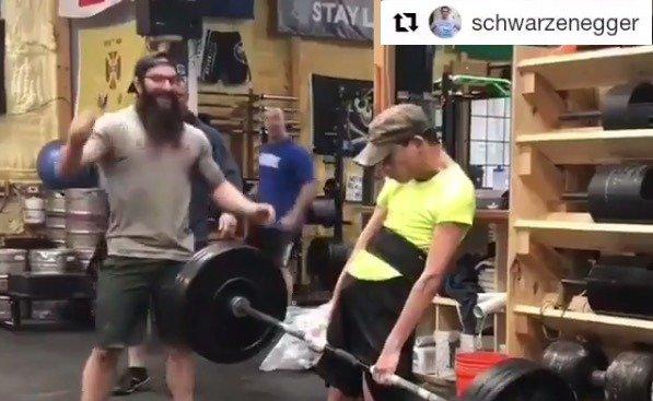 Schwarzenegger inspired