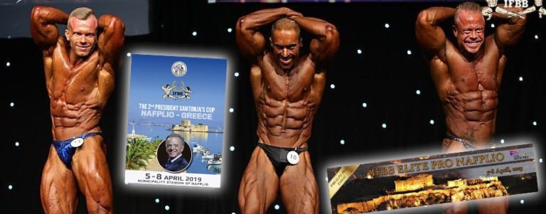 2nd IFBB President Santonja's Cup and Elite Pro Show Nafplio (Greece)