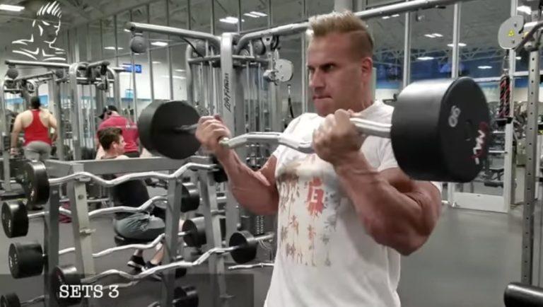 WATCH: Jay Cutler's 30-Minute Express Arm Workout