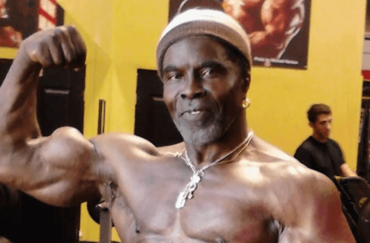 "Bodybuilding legend Robby Robinson ""The Black Prince"" in hospital"