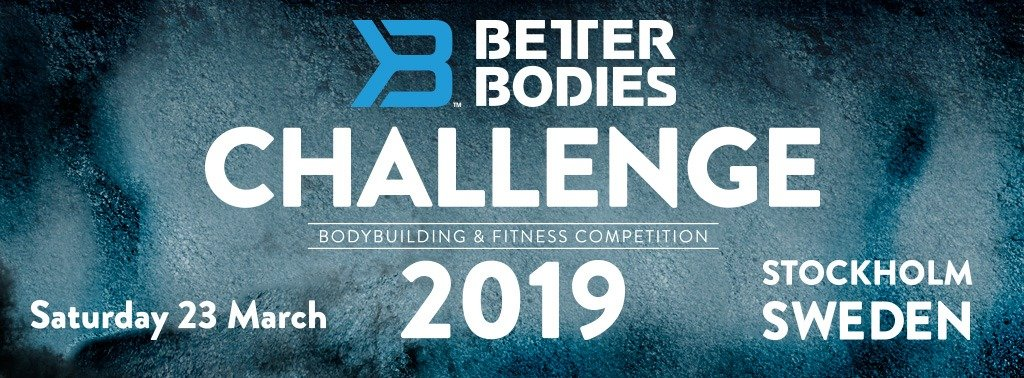2019 IFBB Better Bodies Challenge