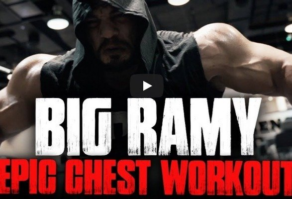 WATCH: Big Ramy – Epic Chest Workout and New Sponsor