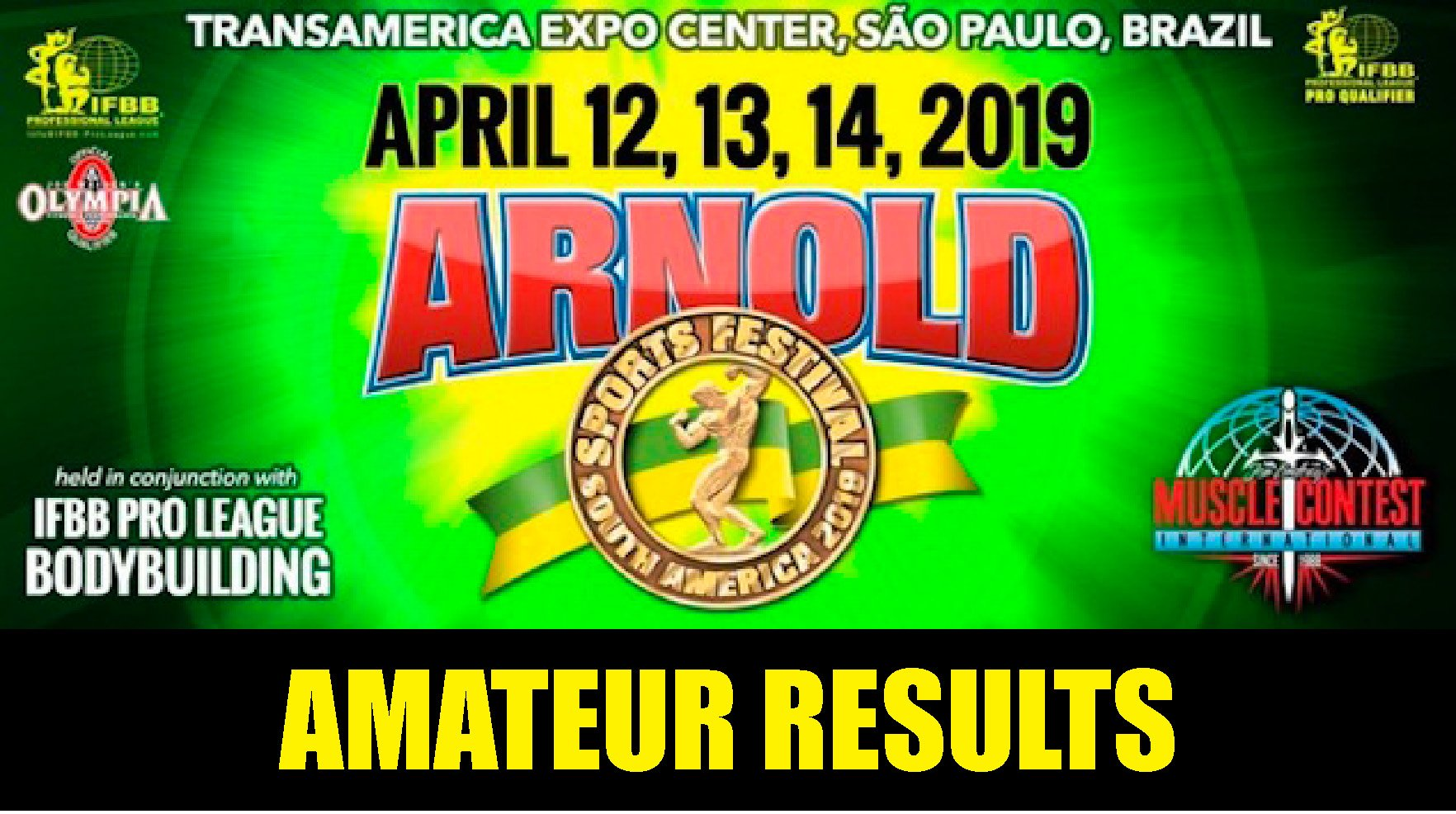 2019 Amateur Arnold Classic South America
