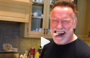 Arnold Schwarzenegger April Fools