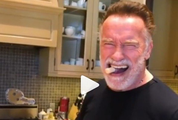 Arnold Schwarzenegger April Fools
