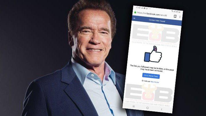 Arnold Schwarzenegger's official Facebook