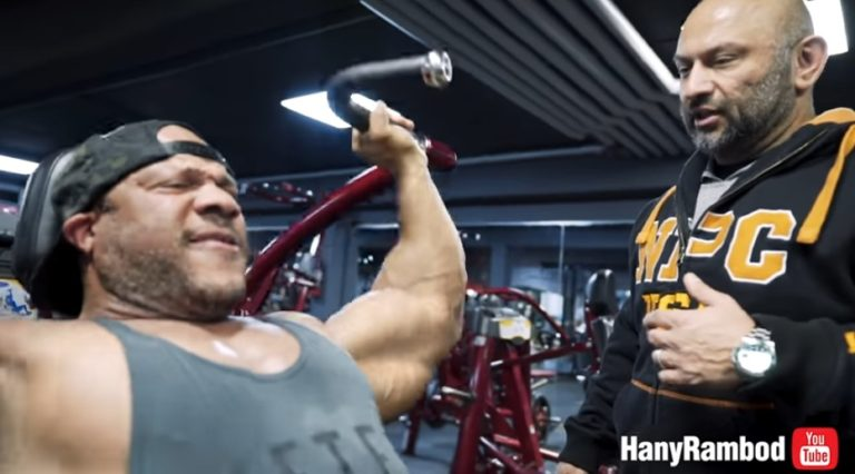 WATCH: Hany and Phil Heath crush a FST-7 shoulder Workout