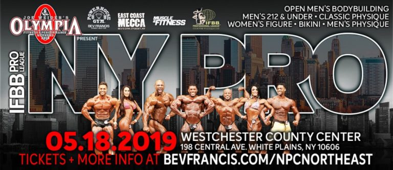 Official 2019 New York Pro competitors list