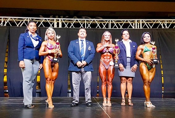 RESULTS: 2019 IFBB Central American