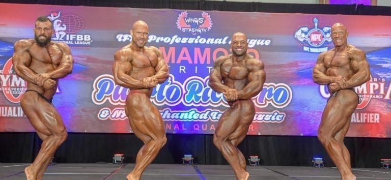 RESULTS: DeLaRosa and Correa dominate at Puerto Rico Pro show